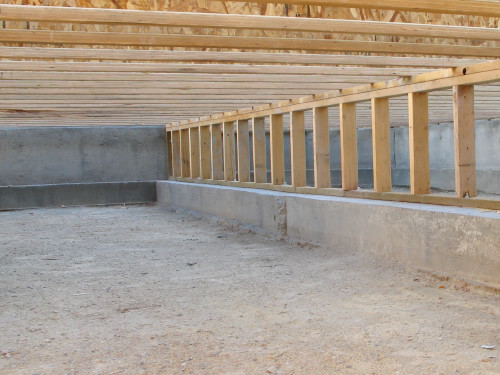 Tml home inspectors inc foundations structure for Wood crawl space foundation