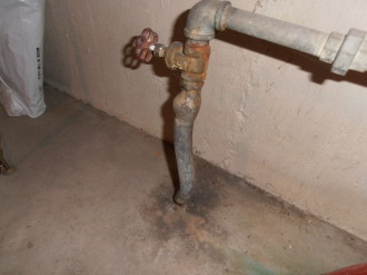Tml home inspectors inc plumbing for Water pipes for home